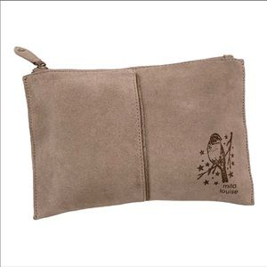 Mila Louise Suede Pouch